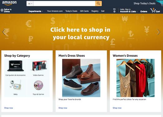 Amazon:亚马逊商城官方网站