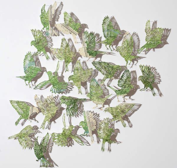 Claire Brewster纸雕艺术作品集