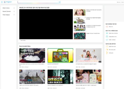 韓國MGooN短視頻網站
