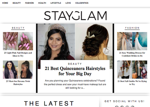 StayGlam:每日時尚靈感推薦網