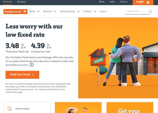 BankWest:澳大利亞西澳銀行官網