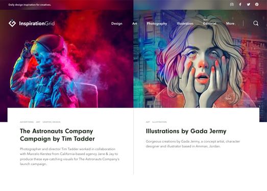 InspirationGrid|灵感格子创意案例网