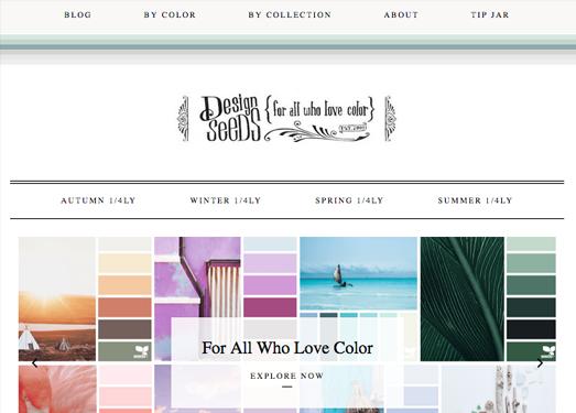 设计种子| 分享配色经验与案例
