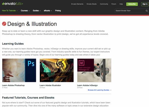 envatotuts+|Photoshop教程从初学者到高级进阶应有尽有