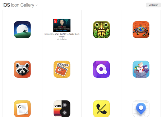 iOS Icon Gallery